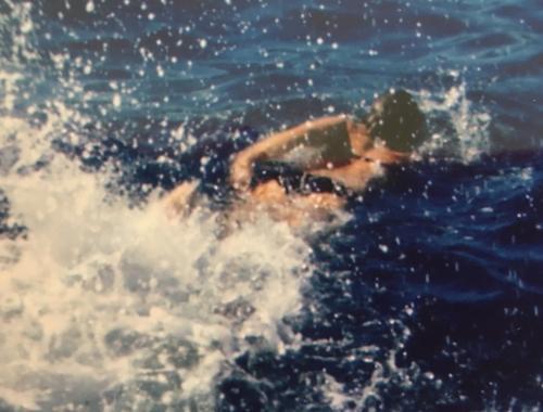 Nager l'hiver en Méditerranée