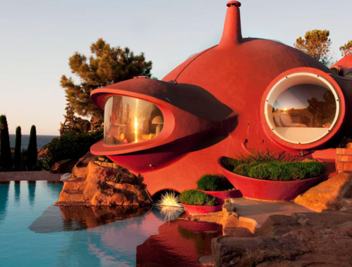 La Maison Bernard, bijou architectural d'Antti Lovag