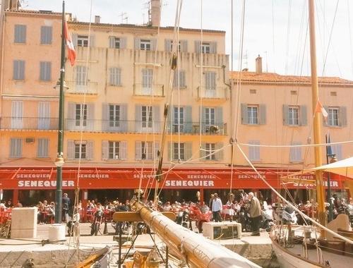 Saga : Sénéquier à Saint-Tropez