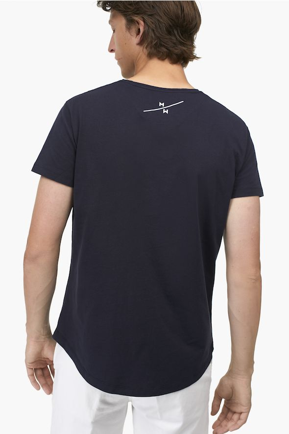 T-shirt brodé « Merci la Mer »