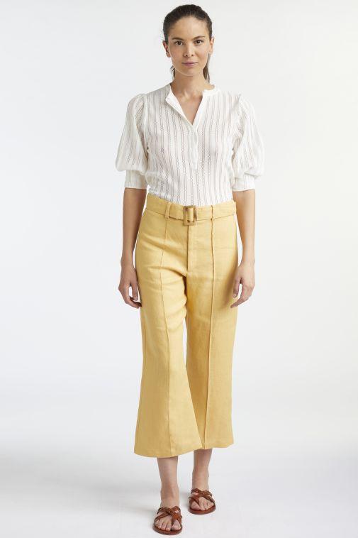 Lisa Marie Fernandez - Belted Pant