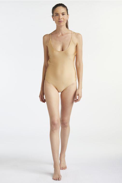 Yasmine Eslami - Lana Decollet Swimsuit