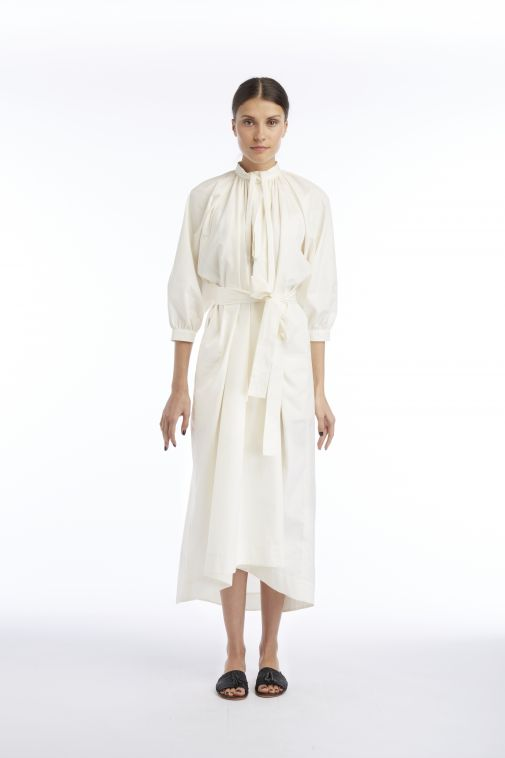 Ivory Tent Dress by J Cricket