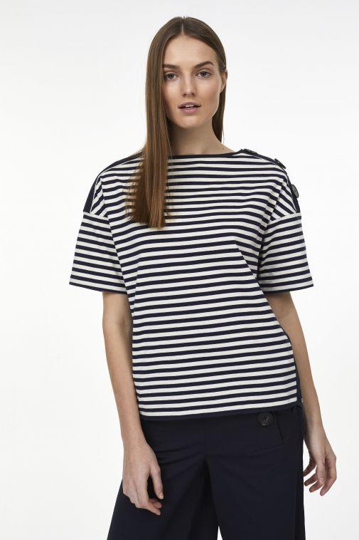 Odeeh - T-shirt à rayures