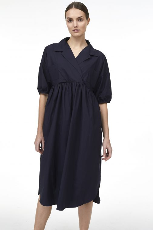 Odeeh - Robe-chemise oversize à col châle