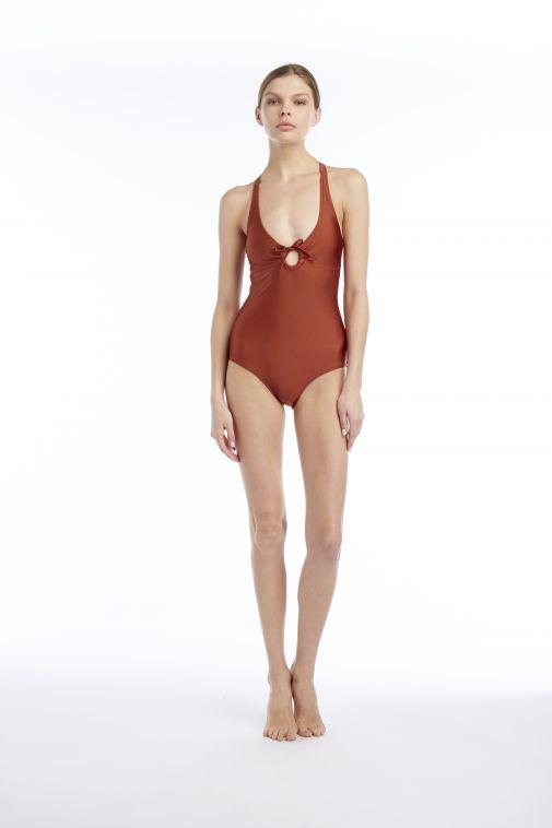Yasmine Eslami - Marisa Halterneck Swimsuit