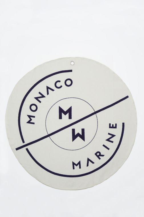 Serviette de plage Monaco Marine