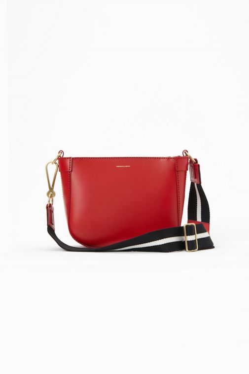 Leather Shoulder Bag by Stiebich & Rieth